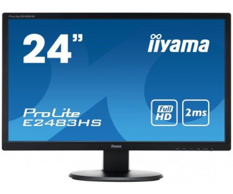 Iiyama Prolite E2483HSB1 24&quot HD LED HDMI Monitor