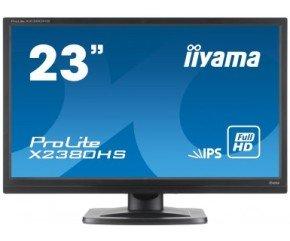 "Iiyama Prolite X2380HS-B 23"" LED IPS HDMI Monitor"