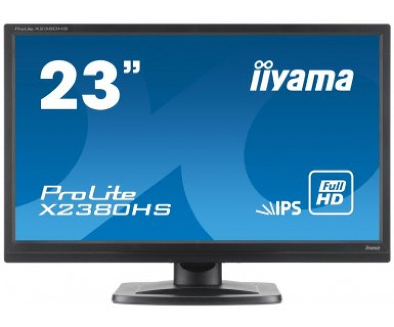 Iiyama Prolite X2380HSB 23&quot LED IPS HDMI Monitor