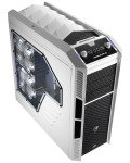 Aerocool X-Predator X3 White Gaming Case Black Interior 20CM White LED Fan