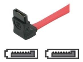 C2G, 90° TO 90° - 7-Pin Serial ATA cable 1m