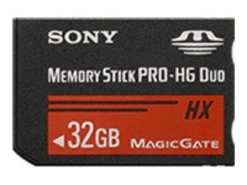 Sony 32GB Memory Stick Pro-HG Duo