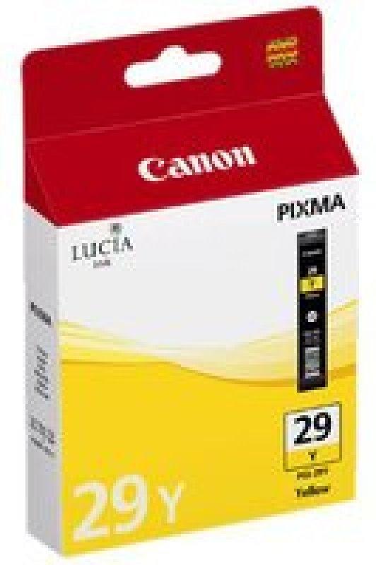 Canon Pgi-29 Ink Tank Yellow 4875b001aa