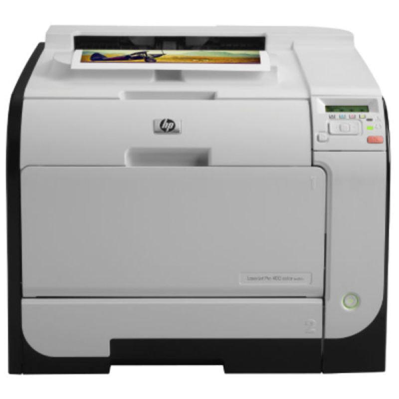 Image of HP LaserJet Pro 400 M451nw Colour Wireless Printer