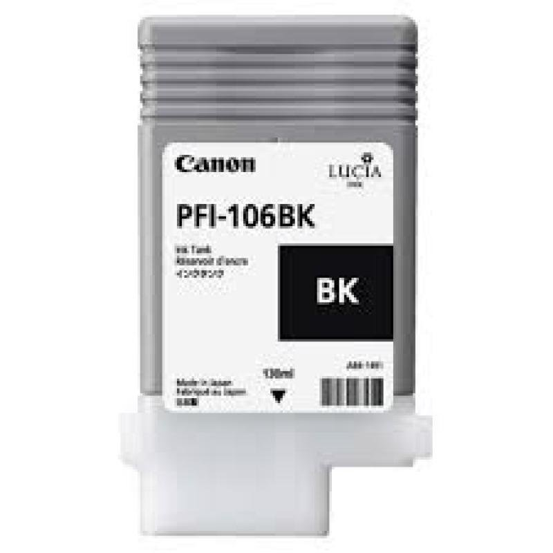 Canon 6621B001 Pfi-106 Black Ink Tank