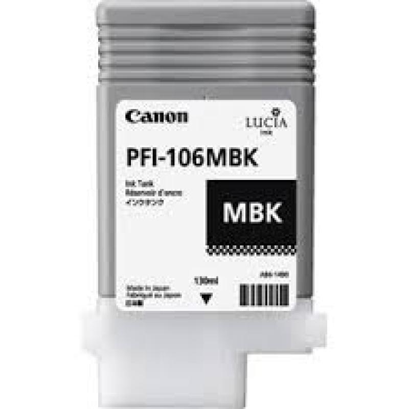 Canon Pfi-106MBK Pigment Ink Tank 130ML