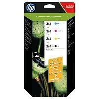HP 364 Combo Value Pack including HP Advanced Photo Paper & Envelopes
