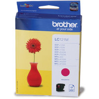 Brother LC121 Standard Magenta Ink