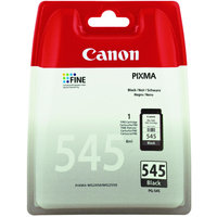 Canon PG-545 Black Ink Cartridge - 180 Pages