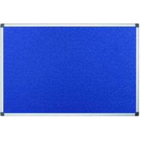 Bioffice Flame Resist Notice Board Blue