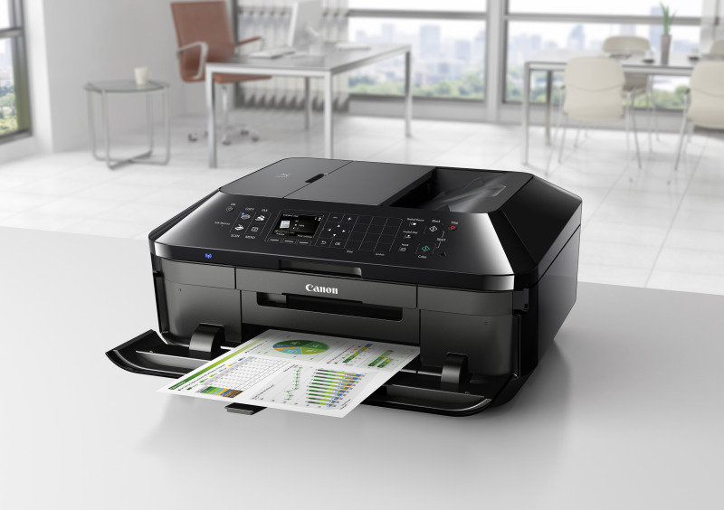 Canon MX725 Premium 5-ink All-In-One Inkjet Printer