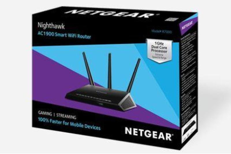 NETGEAR Nighthawk AC1900 Smart WiFi Router - R7000