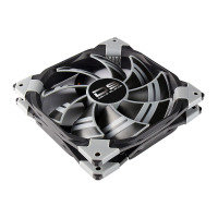 Aerocool Dead Silence 12cm Black Fan Dual Material Colour FDB Fan 12.1dBA Retail
