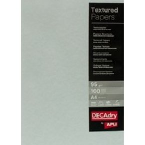 Decadry 95gsm Textured Blue A4 Parchment Paper - 100 Sheets