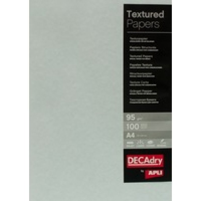 Image of Decadry 95gsm Textured Blue A4 Parchment Paper - 100 Sheets