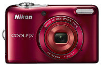 Nikon Coolpix L30 Camera - Red