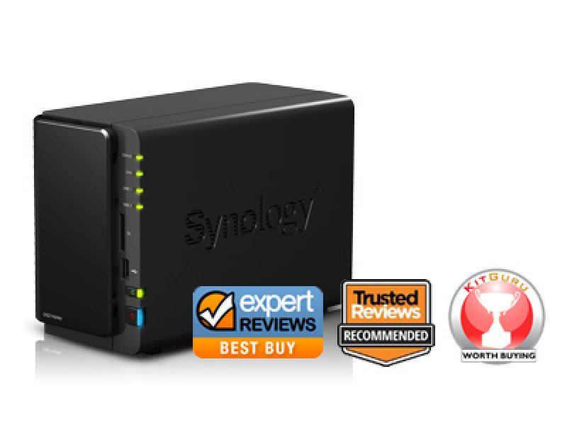 Synology DS214Play 8TB 2 Bay Desktop NAS
