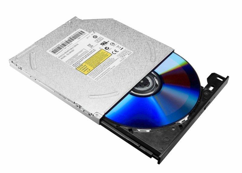 LiteOn DS-8ABSH 8x Slim Internal DVD Write with SATA - OEM