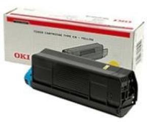 Oki Yellow Toner 5k C5100/5200/5300/5400