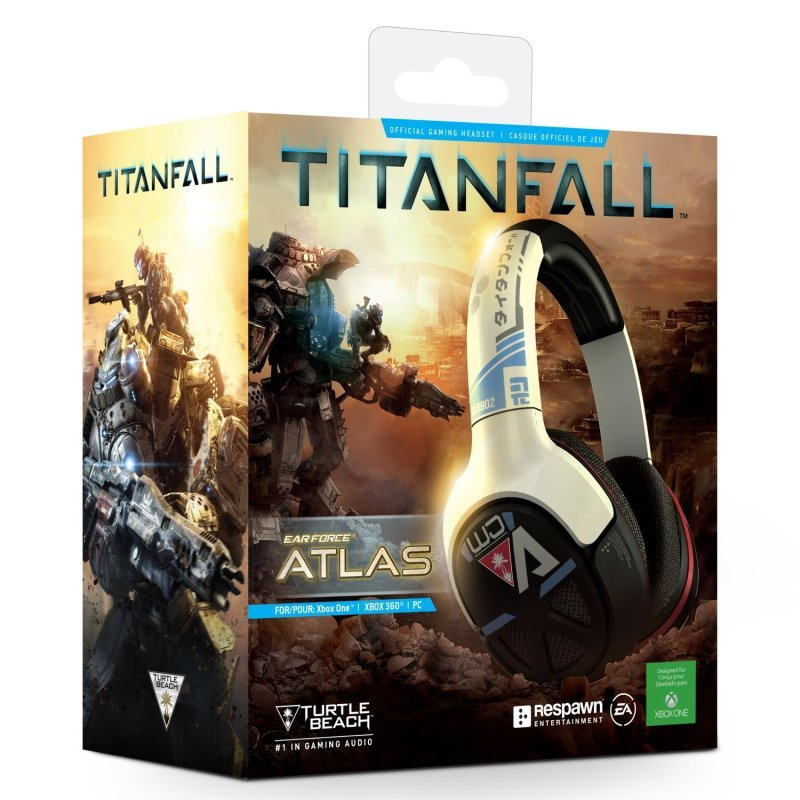Turtle Beach Titanfall Ear Force Atlas Official Gaming Headset - Xbox One & PC