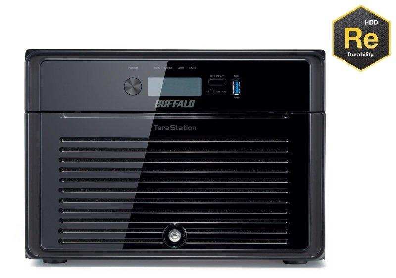 Buffalo TeraStation 4800 TS4800DEU 32TB (8 x 4TB WD RE) 8 Bay Desktop NAS