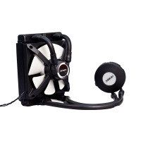 Antec H2O Kuhler 650 Water Cooling Kit PWM Fan RGB LED Temperature Sensor