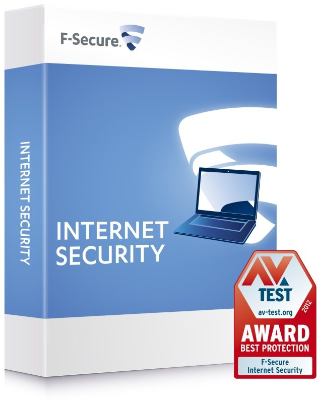 Image of F-Secure Internet Security 2014 3 User- Electronic Download