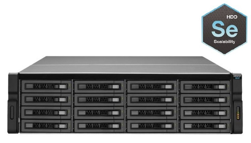 QNAP REXP-1600U-RP 48TB (16 x 3TB WD SE) 16 Bay 3U RAID Expansion