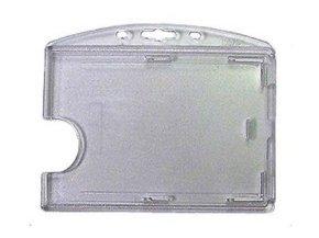 *PB Rigid Polycarbonate Transparent Badge Holder