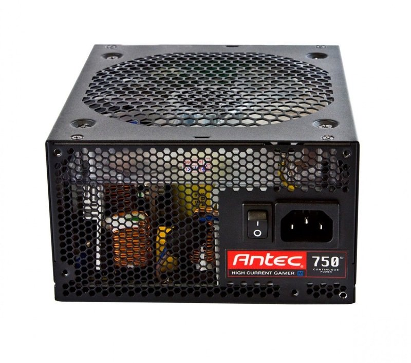 Antec High Current Gamer 750W Semi Modular 80+ Bronze Power Supply