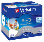Verbatim 6x BD-R Dual Layer 50GB 10 Pack Jewel Case
