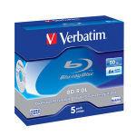 Verbatim 6x BD-R Dual Layer 50GB 5 Pack Jewel Case