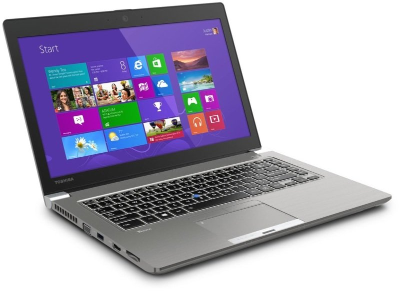 Toshiba Tecra Z50A11J Ultrabook Intel Core i74600U 2.1GHz 4GB RAM 128GB SSD 15.6&quot LED NOOPT Intel HD Webcam Bluetooth Windows 7  8.1 Pro 64bit
