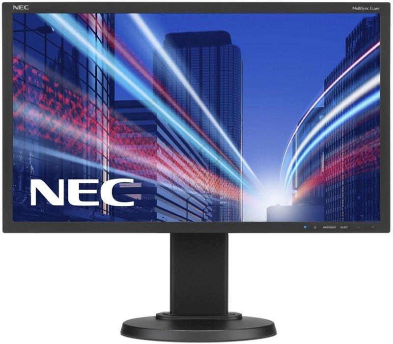 "NEC MultiSync E224Wi 22"" LED IPS DVI Monitor"