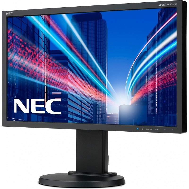 "NEC MultiSync E224Wi 22"" LED IPS DVI Monitor"
