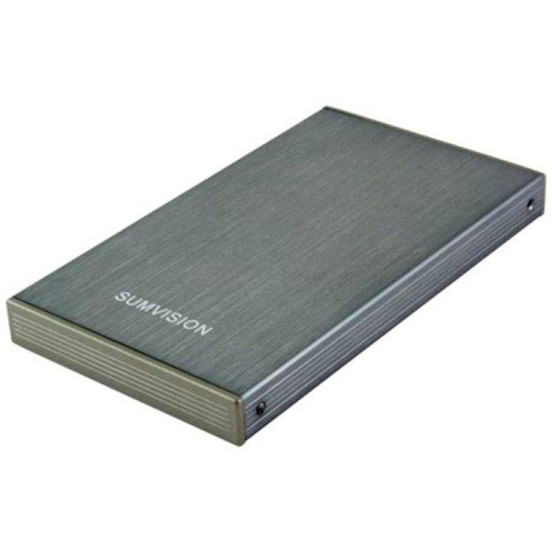 Sumvision Hard Drive Caddy - Brushed Aluminium