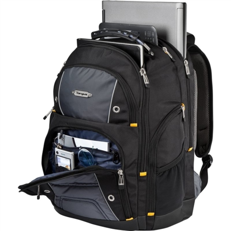 "Image of Targus Drifter II Laptop Backpack For Laptops up to 16"" - Black / Grey"