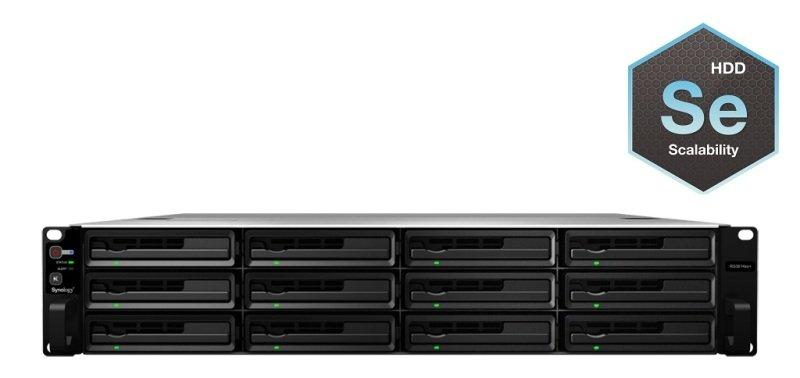 Synology RS3614xs+ 36TB (12 x 3TB WD SE) 10GbE 12 Bay 2U Rack NAS