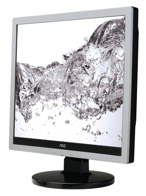 """AOC E719SDA 17"""" LED VGA DVI Monitor"""