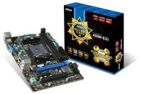 MSI A55M-E33 Socket FM2+ VGA HDMI Audio mATX Motherboard