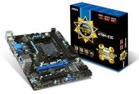 MSI A78M-E35 Socket FM2+ VGA DVI HDMI 8 Channel Audio mATX Motherboard