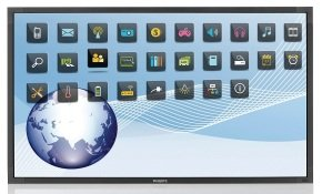"Philips BDL5554ET 55"" Multi-Touch Signage Display"