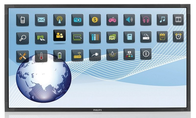 """Philips BDL5554ET 55"""" Multi-Touch Signage Display"""