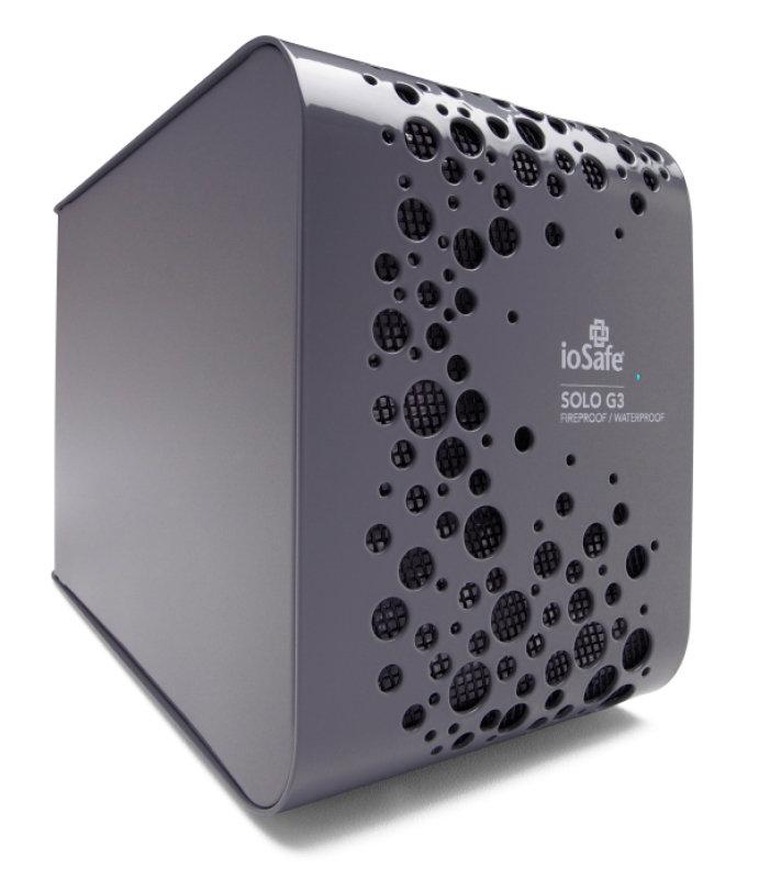 ioSafe 2TB Solo G3 Fireproof External Hard Drive