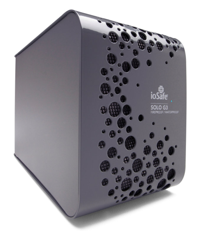 Image of ioSafe 3TB Solo G3 Fireproof External Hard Drive