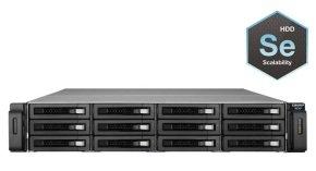 QNAP REXP-1200U-RP 48TB (12 x 4TB WD SE) SAS/SATA/SSD RAID Expansion