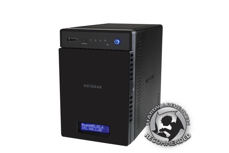 Netgear ReadyNAS 104 4-Bay (No disks) Enclosure