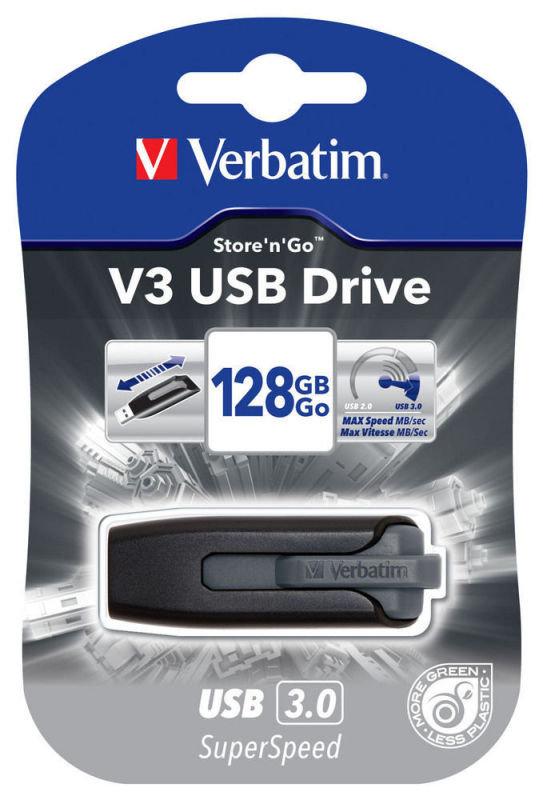 Verbatim 128gb V3 USB3.0 Stick