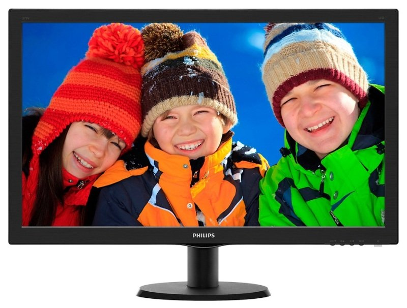 Philips 273V5LHAB 27&quot LED VGA DVI HDMI Monitor with Speakers