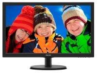 """Philips 223V5LSB 22"""" LED VGA DVI Monitor"""